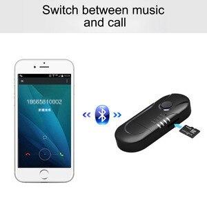 Image 3 - AOSHIKE  FM Transmitter Bluetooth Reciever FM Modulator Radio Hands Free Car Kit Car MP3 Audio Player with USB Car Charger TF U