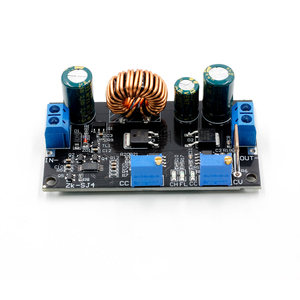 Image 5 - 4,8 30V Solar Ladegerät Lade Controller DC DC Spannung Einstellbar Schritt Up und Unten Automatische Boost/buck Converter Power Module