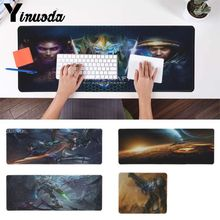 Yinuoda Funny starcraft 2 Office Mice Gamer Soft Mouse Pad Free Shipping Large gaming  Keyboards Mat anime