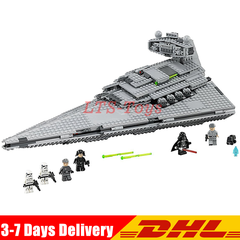IN Stock Lepin 05062 1359pcs Star War The Imperial Super Star Destroyer Set Building Blocks Bricks Compatible Legoed 75055 new lepin 16009 1151pcs queen anne s revenge pirates of the caribbean building blocks set compatible legoed with 4195 children