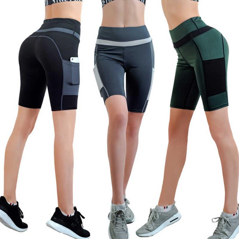 Psvteide spodenki do biegania damskie spodenki sportowe kompresji joga krótkie wysokiej talii szorty kobiety seksowne ciasne kąpielówki szybkie suche spodnie i spódnice