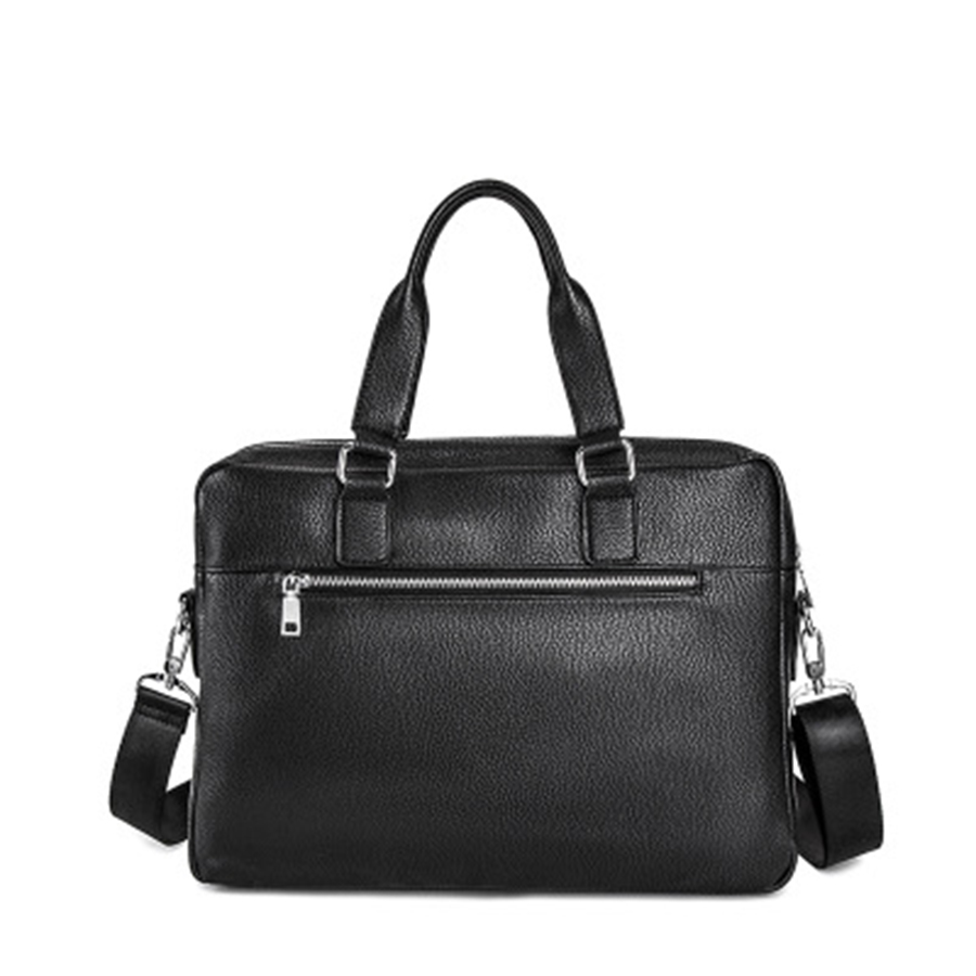 Office PU Laptop Briefcase Business Man Bag Lawyer Work Computer Bag Business Office Bolsa Executiva Masculina Man Bag Big 5GW17(China)
