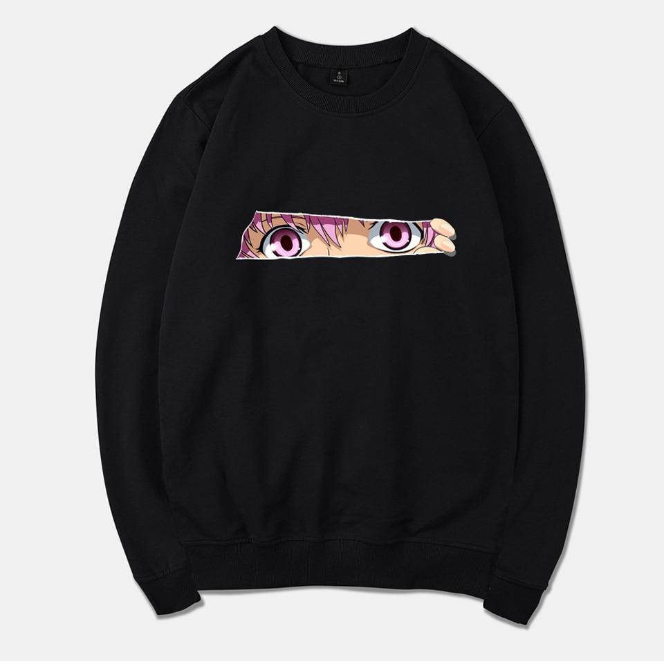 wangcangli 2018 Mirai Nikki Hoodies Men New Fashion Brand Global Sales Sweatshirt Men Comfortable Fashion Casual mens hoodies