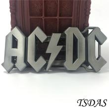 Klassische AC DC ACDC Logo Punk Rock Band Musik Stil Jungen Herren Metall Gürtelschnalle Männer Jean zubehör