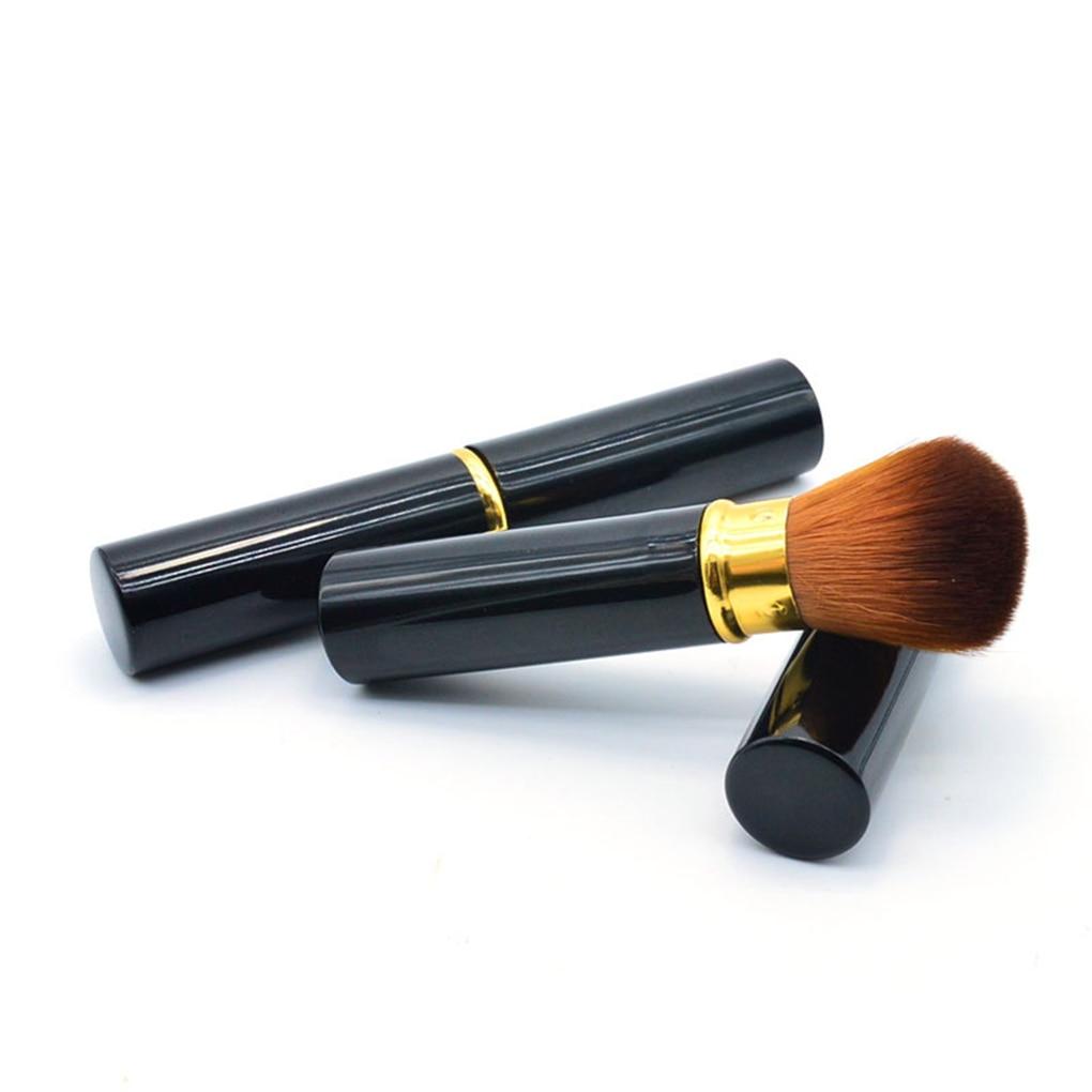 Women Girls 1PC Portable  Extendable Makeup Brush Powder Brush Foundation Brush