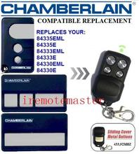 new Compatible CHAMBERLAIN LIFTMASTER 84335EML,84335E,84333EML,84330E repalcement remote motorlift 84330e 84335e 84334e replacement remote control 433mhz dhl free shipping