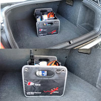 Foldable Collapsible Car Auto Trunk Storage Bag Pocket Cage Organizer Tidy Box For AUDI A1 A3