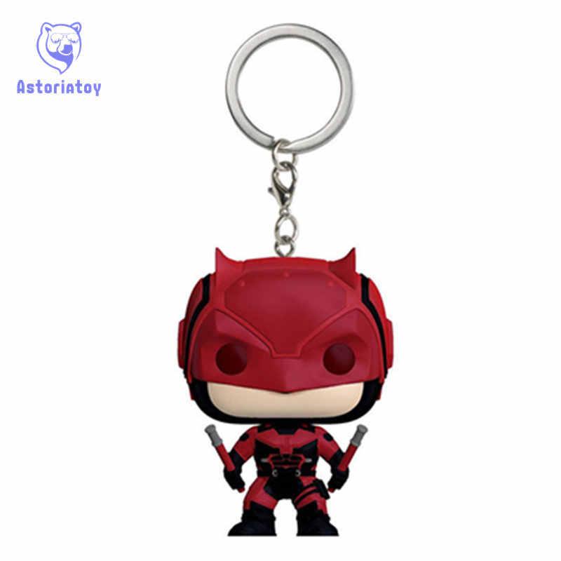 Брелок Мстители Сорвиголова фигурка героя качающейся головой Q издание без коробки для украшения автомобиля