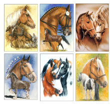 5D DIY Diamond Embroidery Cartoon Animal Painting Cross Stitch Full Round Mosaic