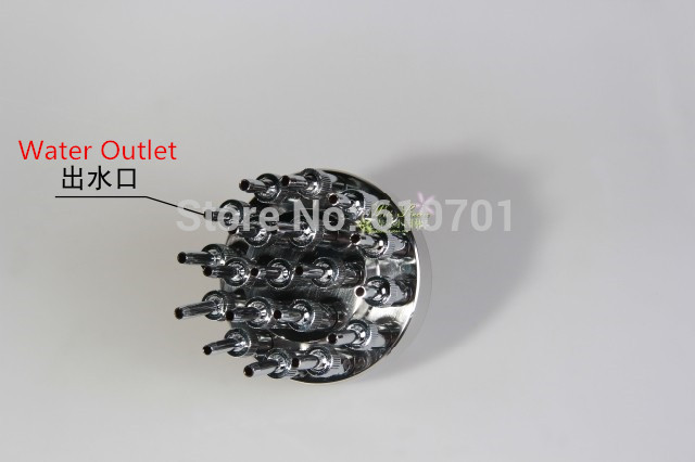 "304 Stainless Steel Adjustable 1 1/2"" DN40 Three Layer Flowers Spray Sprinkler Style Stylet Interlobule Pool Fountain Nozzle"