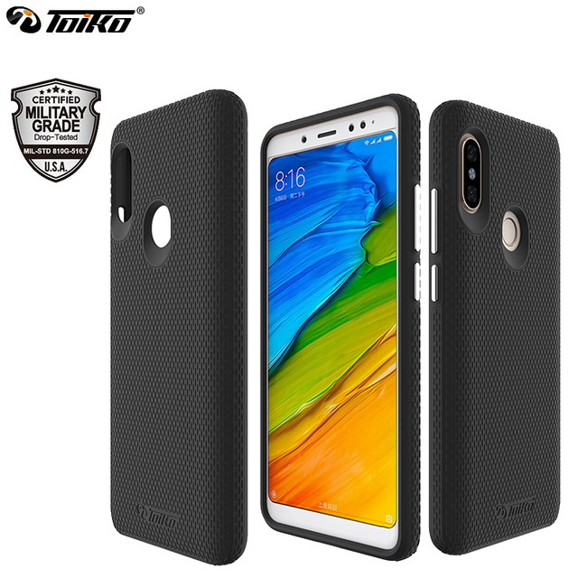 quality design eac11 9cb70 US $6.69 54% OFF|TOIKO X Guard Dual Layer Phone Case for xiaomi Redmi Note  5 Pro Note 5 Global Hard PC Soft TPU Shockproof Protective Armor Cover-in  ...