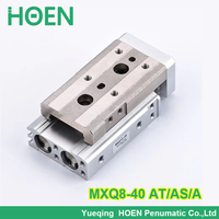 MXQ8 40 AS AT A MXQ8L 40 MXQ series Slide table Pneumatic Air cylinders pneumatic component air tools MXQ series