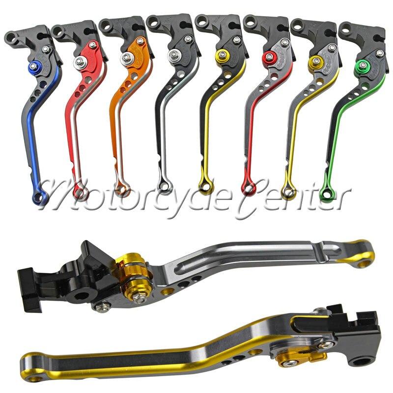 Mixed Colors Regular CNC Brake Clutch Levers For Yamaha FZ1 FZ6 Fazer FZ8 FZ6R XJ6 MT-07 MT-09 MT09 2006-2014 Long Lever cnc billet adjustable long folding brake clutch levers for yamaha fz6 fazer 04 10 fz8 2011 14 2012 2013 mt 07 mt 09 sr fz9 2014