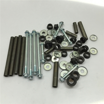 STARPAD For small bull ATV accessories and down rocker rocker shaft spacer spacer screws full set   with screw and nut