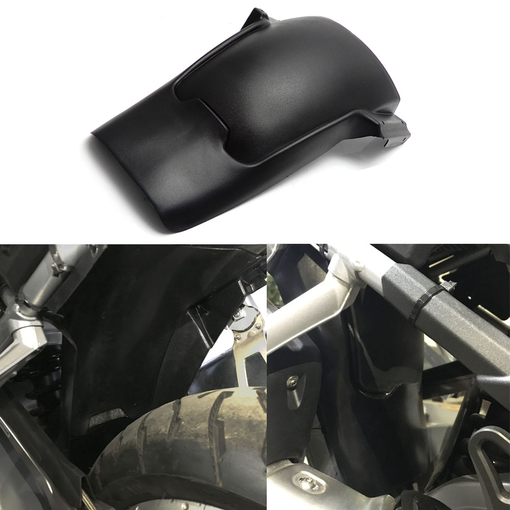 KEMiMOTO R1200GS Adventure Rear Tire Hugger Mudguard Fender for BMW R1200 GS LC Adv 2013 2014 2015 2016 2017 after market motoo for yamaha mt07 mt 07 2013 2017 fz07 2015 2016 2017 cnc aluminum rear tire hugger fender mudguard chain guard cover