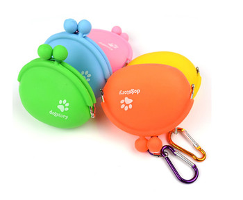 Cats Dogs Feeder Silicone Bottle Pet Dog Walking Food Treat Snacks Bag Outdoor Dog Training Food Storage 17102650 1