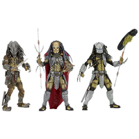 NECA AVP Aliens vs. Predator Series Young Blood / Elder Predator Serpent Hunter Action Figure Toy 20cm