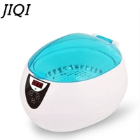 JIQI Digital Ultrasonic Cleaner Ultrasound Wave Cleaning Washing Bath Glasses Jewelry Watch Denture Washer 110V 220V EU US Plug