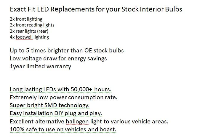 ; набор из 10 шт./лот авто-Стайлинг ксенон белый CAN-BUS менеджера светодиодный Подсветка салона для Audi A4 B7 Bj. 2004-2007