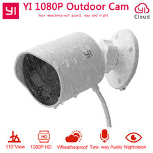 YI Outdoor Security Camera 1080P HD Two-way Audio IP Waterproof Cloud Cam Wireless Night Vision Security Surveillance System(China)