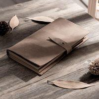 Heißer verkauf notebooks und zeitschriften Vintage Stil Note Buch Leere echtem leder tagebuch planer persönliche reisenden büro liefern