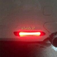 Июля король красный В виде ракушки световод LED Тормозные огни для автомобиля ночь DRL чехол для Toyota Camry Reiz e'z Aurion Avalon Aygo Sienna lexus IS F