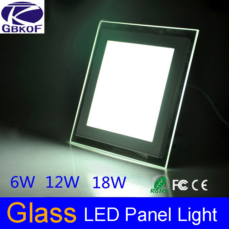 Modern Design With Glass Cover 6w 12w 18w Led Ceiling