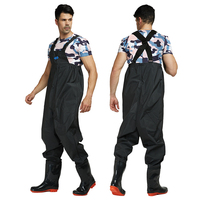 Ultra light Rubber Fishing Wader Breathable Chest Waders Outdoor Fishing boots Respirant Fish Overalls Fly Fishing A127