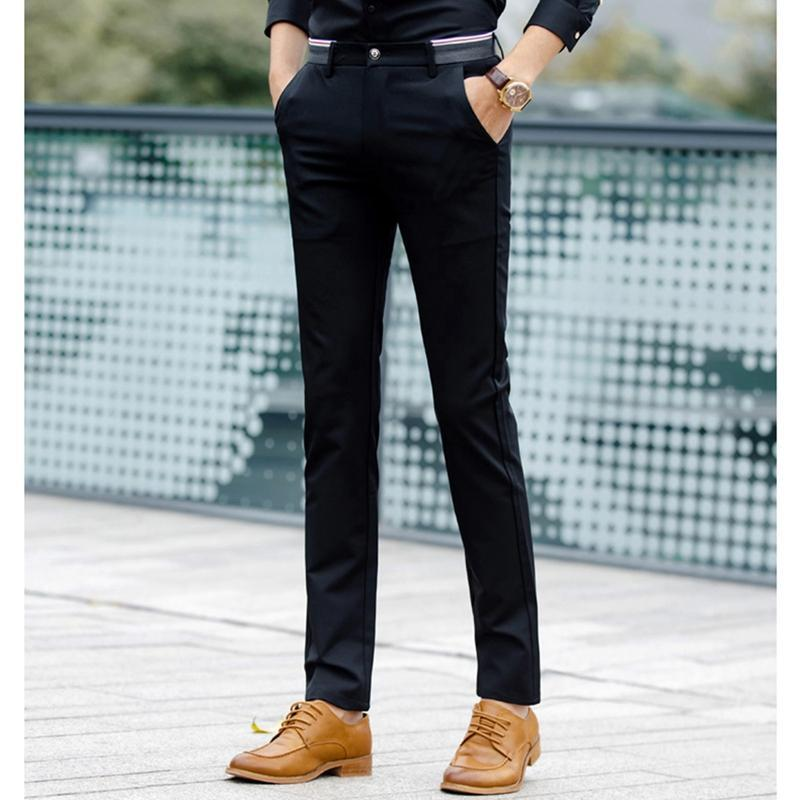 men-formal-pants-classic-pleated-front-long-dress-pants-regular-fit-mens-dark-grey-straight-trousers-of-suits-cotton-navy (1)