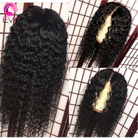 150 Density Glueless Full Lace Human Hair Wigs With Baby Hair Pre Plucked Natural Hairline Deep Wave Remy Hair Wigs Eva Hair