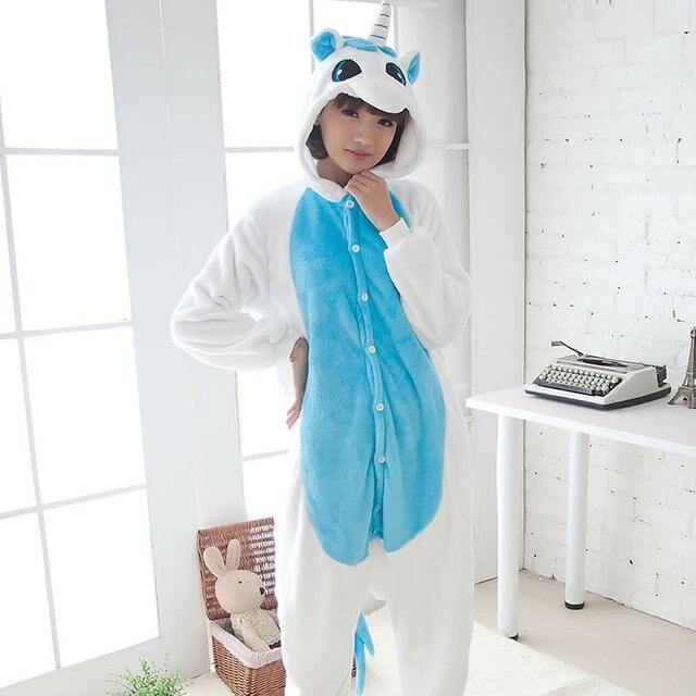 Blue Adult Unicorn Pajamas Unicorn Onesies Animal Pajamas Onesies Adult  Animal Onesies Pajamas Women Men Christmas Pajamas 8c92dbffe