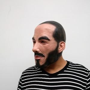 Image 3 - Realistische Party Cosplay Beroemde Persoon Man David Beckham Gezicht Maskers Latex Real Menselijk Gezicht Cosplay Masker Cool Event Masker Grappig
