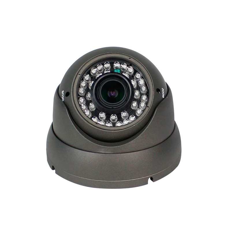 5MP SONY326 Sensor CMOS Câmera de Vídeo Vandalproof Indoor AHD 2.8-12mm 4 * Manual de Lente Zoom Da Câmera Dome com Menu OSD