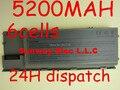 5200 MAH Batería Del Ordenador Portátil 310-9080 312-0383 312-0386 312-0653 451-10298 451-10422 GD775 GD776 GD787 Para DELL Latitude D620 D630