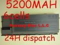 5200 MAH Bateria Do Laptop 310-9080 312-0383 312-0386 312-0653 451-10298 451-10422 GD775 GD776 GD787 Para DELL Latitude D620 D630