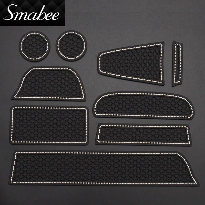 smabee Car Door Groove Mat për For Lada Kalina GRANTA Matëse - Aksesorë të brendshëm të makinave - Foto 4