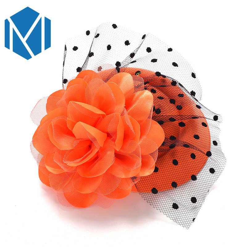 H женская шляпа декоративные шпильки для волос на день рождения заколка для волос детская шляпа в форме цветка заколка для волос аксессуары для волос на Рождество