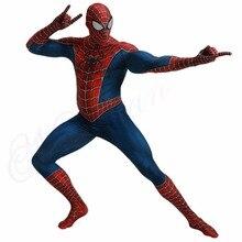 купить Spiderman 3D Print Costume Kids Adult Spandex Raimi Spider-man Costume For Halloween Mascot Cosplay Tom Holland Homem Aranha по цене 741.84 рублей