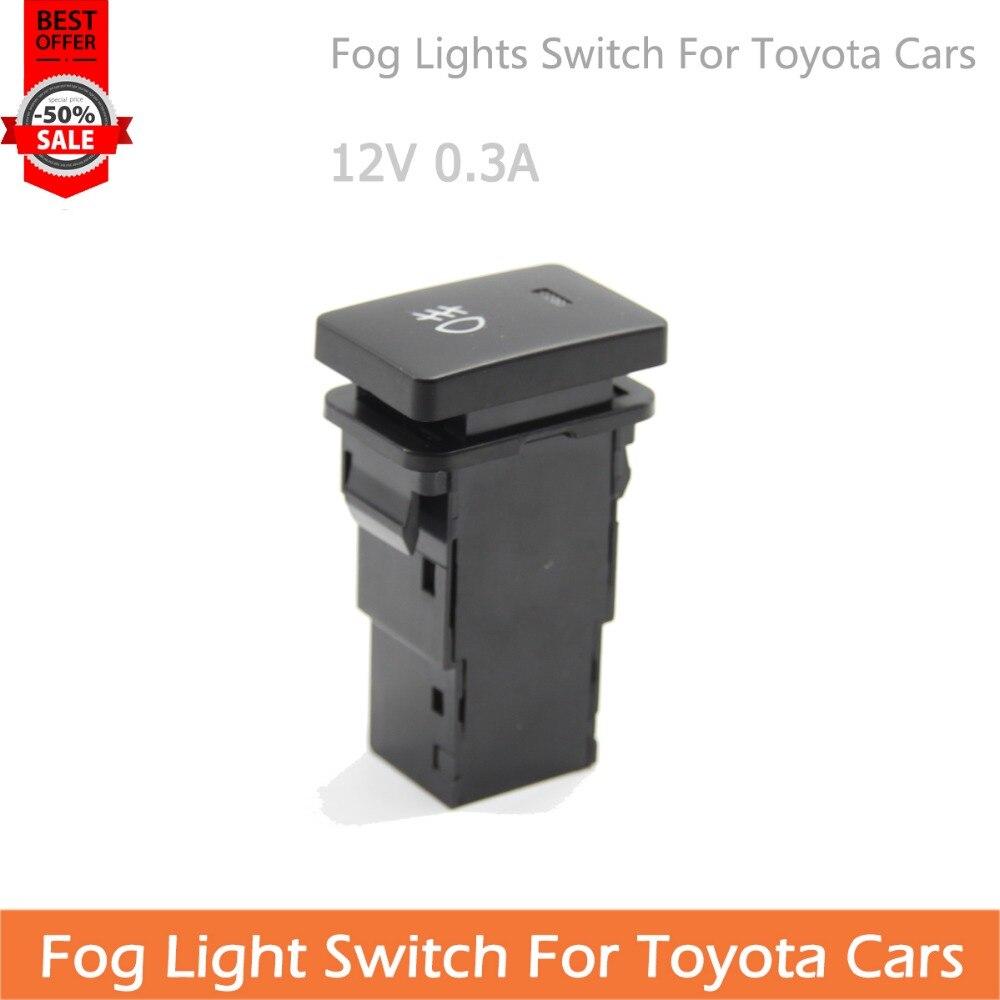 Per Toyota Auto Della Luce di Nebbia Interruttore 12 v 0.3A Uso Universale 8501006e6ef