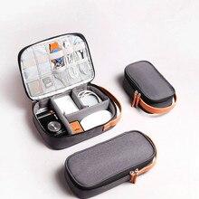 Мягкий Дорожный Чехол для жесткого диска, сумка для электронного устройства для gps мобильного телефона, зарядный адаптер, USB кабель, зарядное устройство, органайзер, внешний аккумулятор