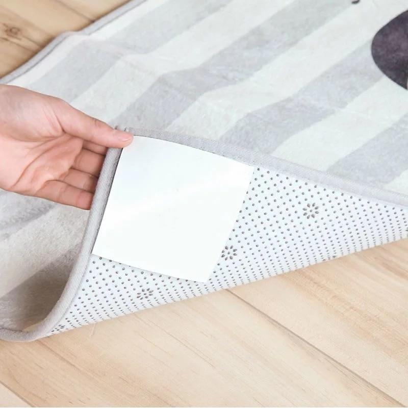 New Anti Slip Sticker For Mat 4PCS Carpet Pad Non Slip Tri Sticker Anti Slip Mat Pads Anti-slip FurnitureNew Anti Slip Sticker For Mat 4PCS Carpet Pad Non Slip Tri Sticker Anti Slip Mat Pads Anti-slip Furniture