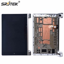 Srjtek 8 Inch For Lenovo Yoga Tablet 2 830 LCD DIsplay Panel +Touch Screen Digitizer Assembly With Frame Tablet