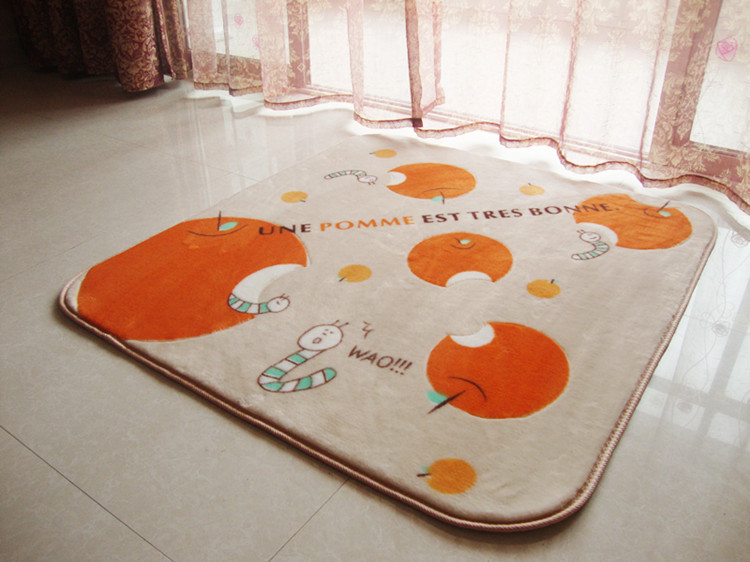 baby room rugs girl cartoon font carpet anti slip tea area boy nursery uk