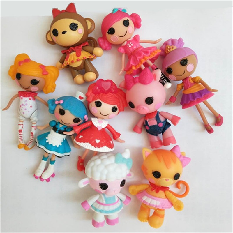 Wholesale Lalaloopsy dolls accessories Mini Dolls For Girl's Toy Play House Each Unique