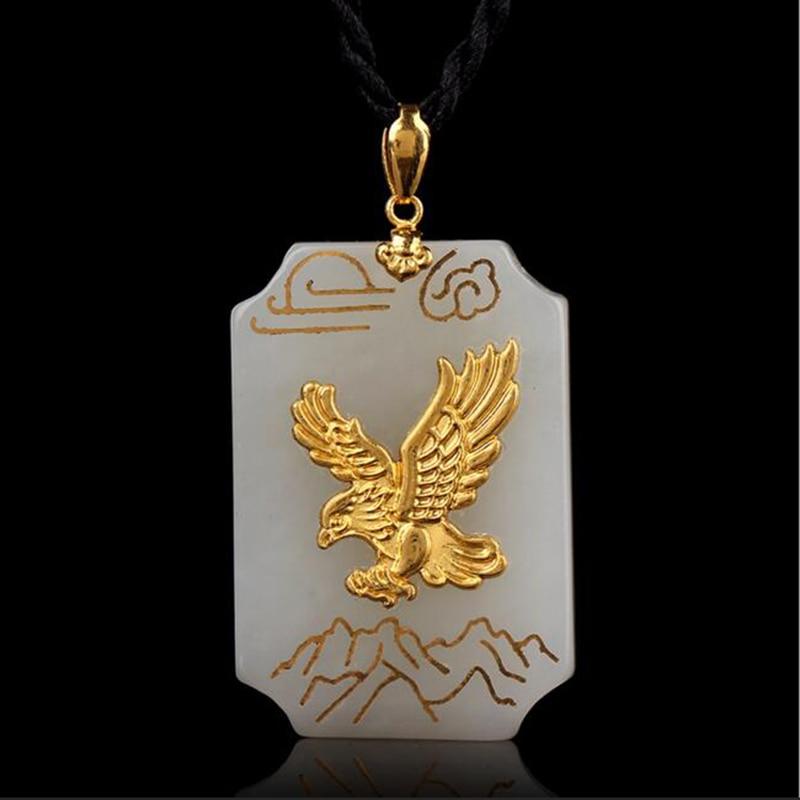 TJP զեղչով տաք վաճառք Լավ որակի Jade Eagle - Նուրբ զարդեր - Լուսանկար 1