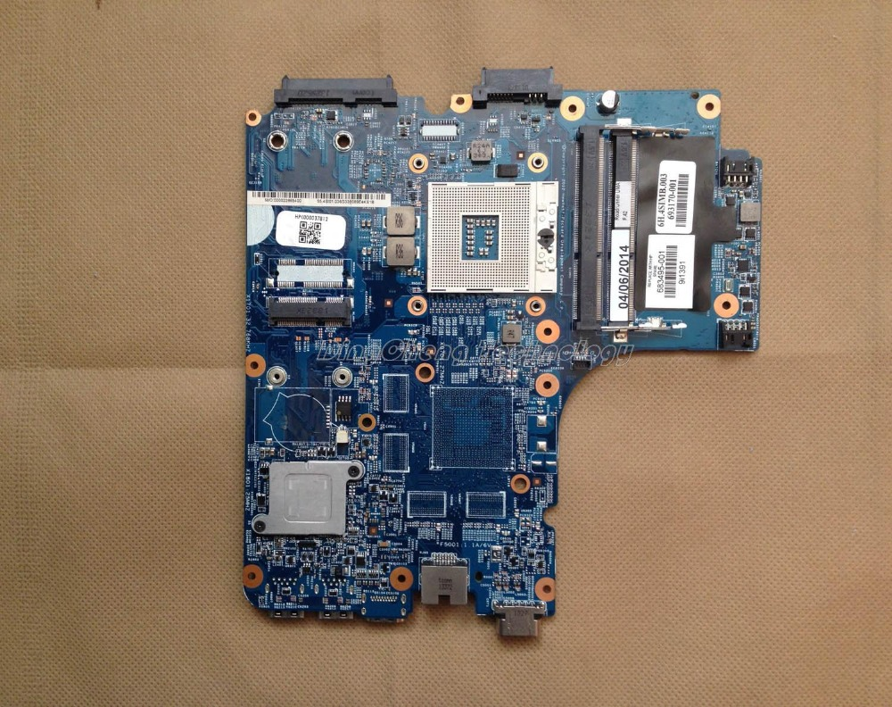 все цены на  laptop Motherboard for hp 4440S 4535S 4540S 683495-001 notebook mainboard for intel cpu with integrated graphics card  онлайн