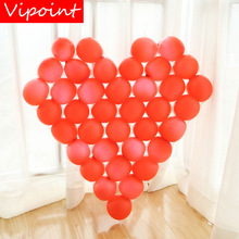 VIPOINT PARTY love heart gridding and 5inch latex balloons wedding event christmas halloween festival birthday party HY-379