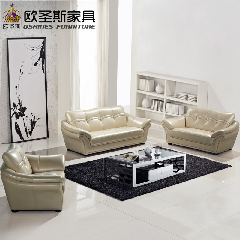 Mide East Style Arabic 7 Seaters 3 Piece Simple Floor Lobby Furniture  Living Room Sofa Set Leather 3 Seater Sofa Dimensions 623A