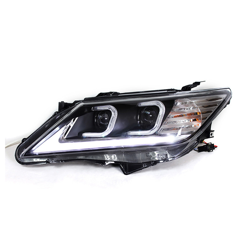 Ownsun LED Eagle Eye DRLs HID Bi-Xenon Projector Len Headlight For Toyota Camry 2012-2013 ownsun new style tear drop led projector lens headlight for new ford focus 2012 2013