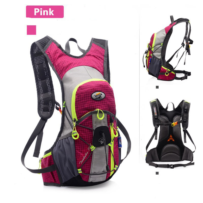 12L Riding Water Bag Ultra-light Air-permeable Sports Running Backpack Outdoor Waterproof Hiking Water Bag Knapsack Bicycle Pack